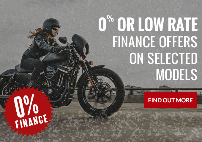 Low rate finance offers on selected models